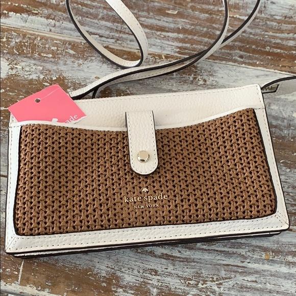 Kate Spade Jackson Straw Crossbody Bag